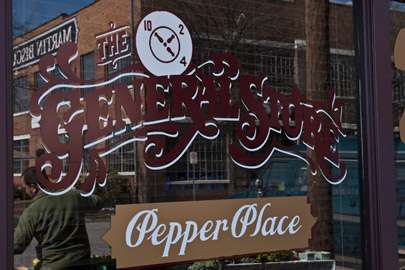 Pepper Place Farmers Market in Birmingham Alabama