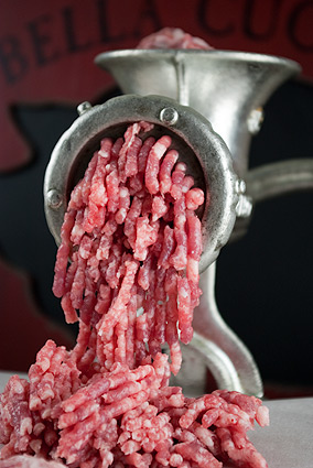 Grinding Meat
