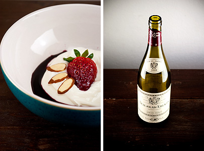 Strawberries and Beaujolais