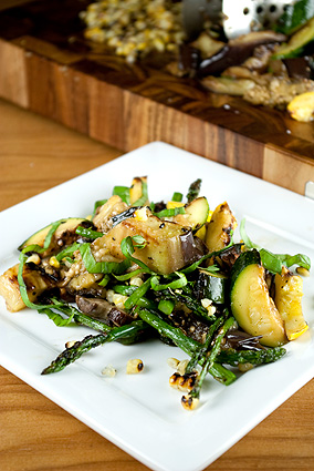 CPK Grilled Vegetable Salad